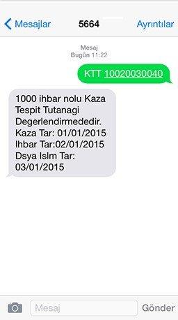 5664 KTT TC ile Sorgulama