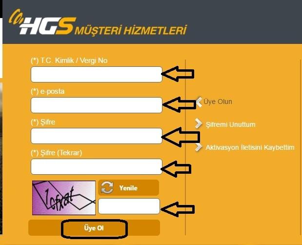 hgs üye olma işlemi nasıl yapılır?