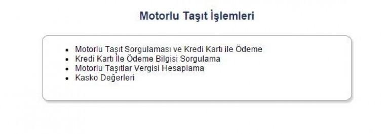 GİB Trafik Cezası Sorgulama   Trafik Cezası Sorgulama ...