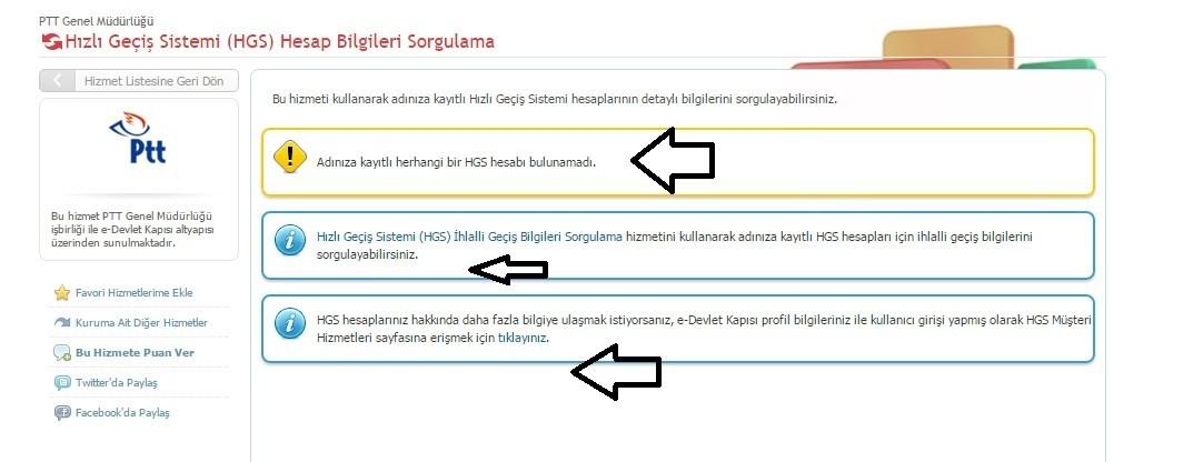 E Devlet İle HGS Sorgulama 2