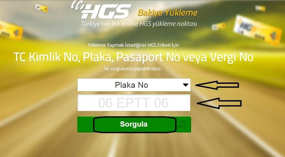HGS Limit Sorgulama Telefon 2