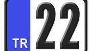 22 Plaka Kodu Nerenin?