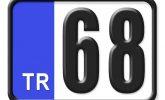 68 Plaka Kodu Nerenin?