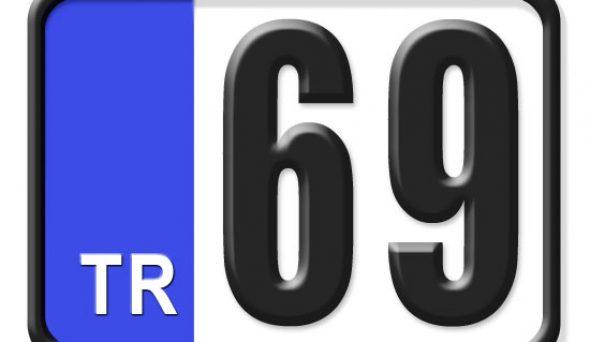 69 Plaka Kodu Nerenin?