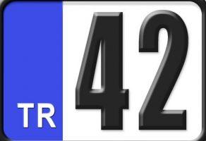 42 Plaka Kodu Nerenin?