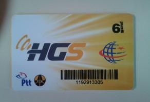 HGS Kredi Yükleme